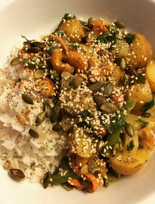 Cashew Curry