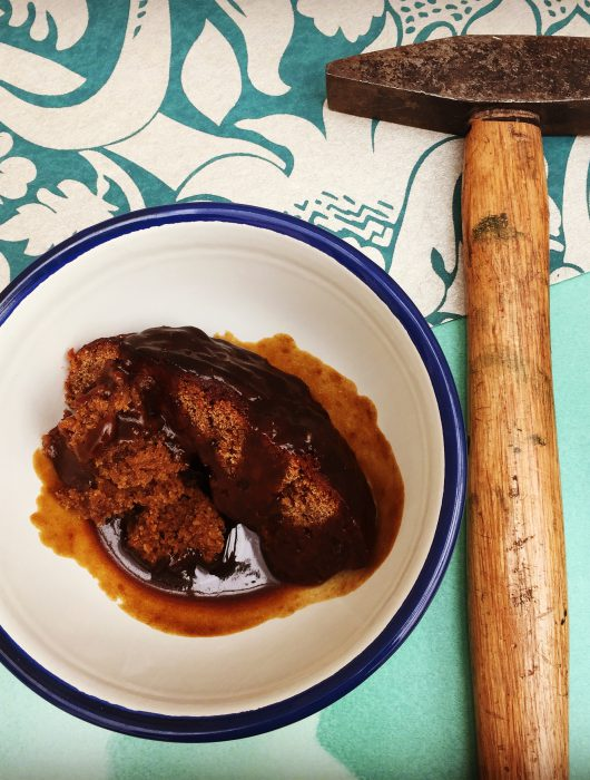 Jaw-breaking Sticky Toffee Pudding