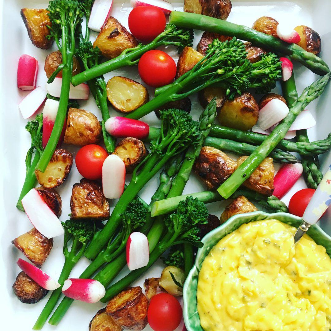Asparagus & Radish Roast